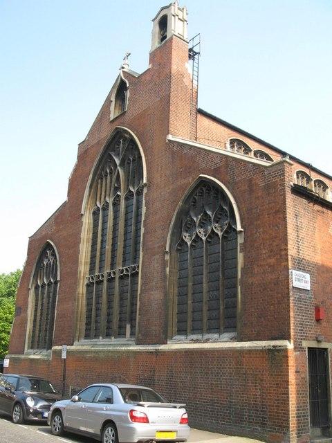 St. Cyprian's Church, Glentworth Street, NW1 - chancel end