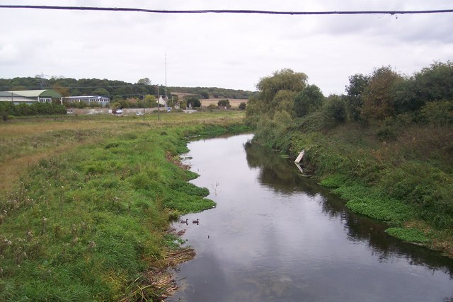River Great Stour leading toward Sturry