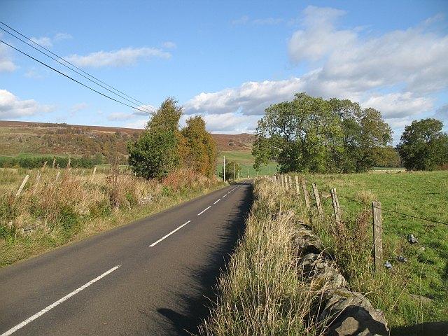 A822, Strath Braan