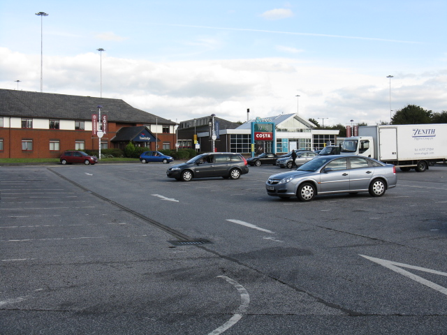 Birch Services (M62) - Main Buildings, Eastbound Side
