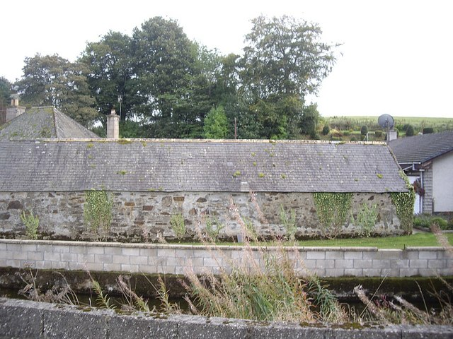 A steading by the bridge at Bridgend