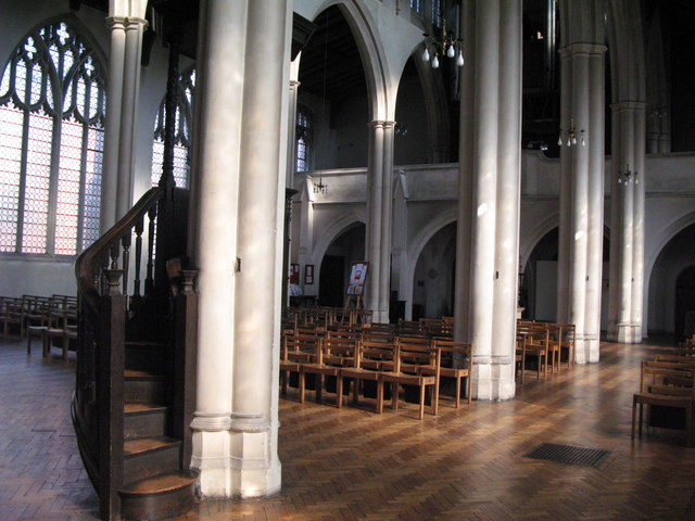 St. Cyprian's Church, Glentworth Street, NW1 - interior