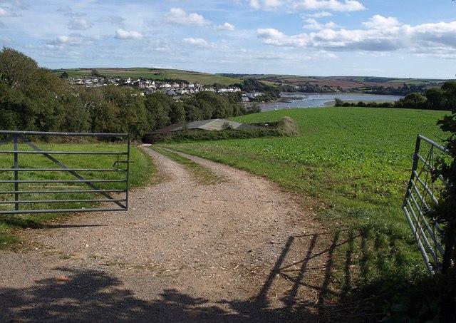 Barn and Kingsbridge estuary