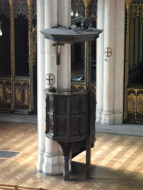 St. Cyprian's Church, Glentworth Street, NW1 - pulpit