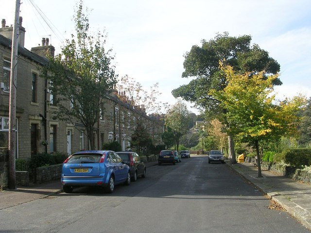 Chester Road - viewed from York Terrace