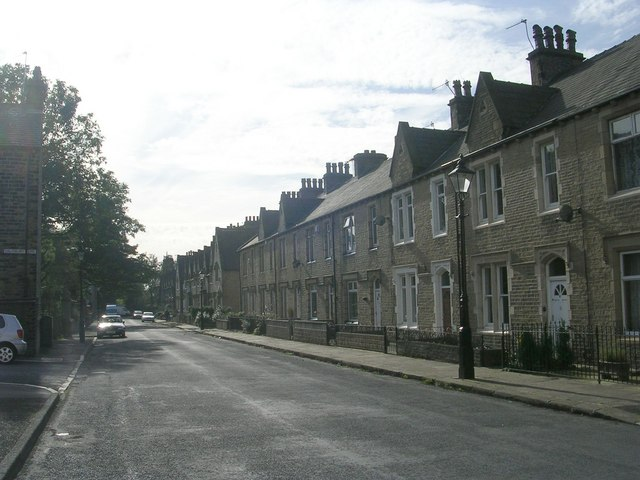 Ripon Terrace - viewed from Salisbury Place