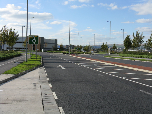 Kingsway Business Park - View Toward Main Offices