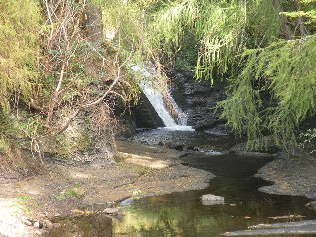 Waterfall on Hudes Hope Beck