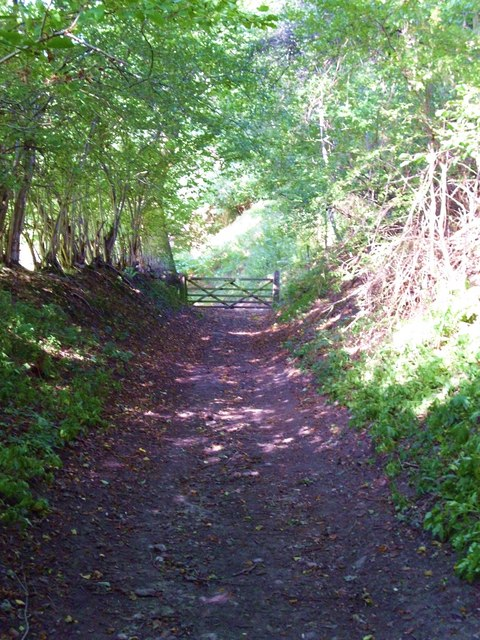 Sunken lane, Hutton le Hole