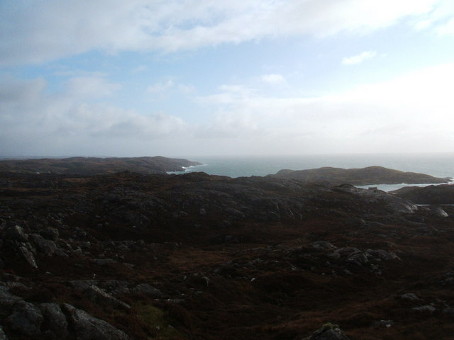 Looking out over the Minch