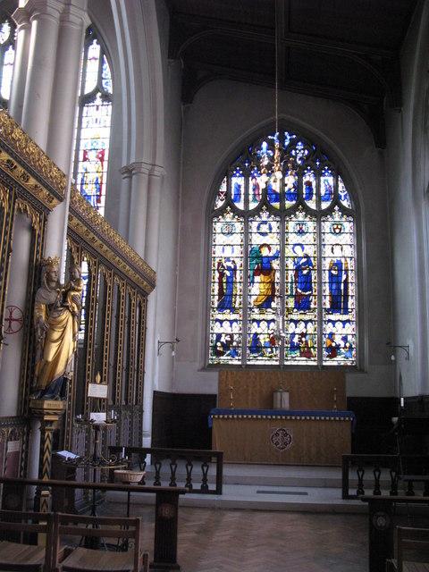 St. Cyprian's Church, Glentworth Street, NW1 - side chapel