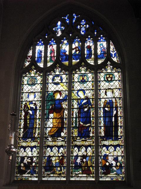 St. Cyprian's Church, Glentworth Street, NW1 - window in side chapel