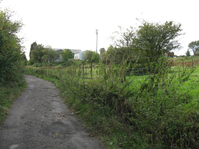 Footpath To Green Hill