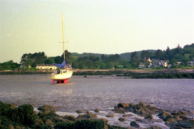 Low tide at Port Donnel