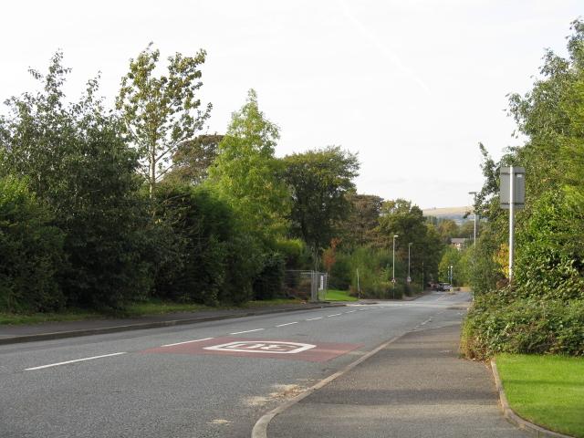 New Broad Lane, Looking North At Brockway