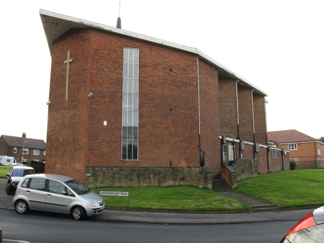 Kirkholt - RC Church, Gainsborough Drive