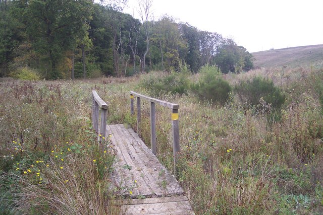 Footbridge near Brickhouse Wood