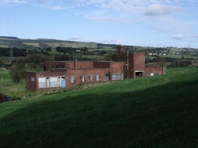 Dullatur Colliery Building