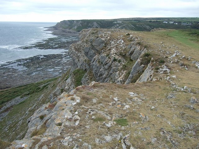 Port-Eynon Point to Overton Cliff