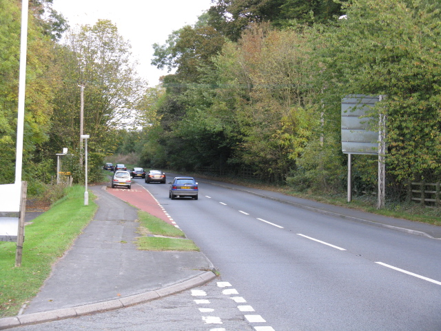 A560, Looking East At The Holiday Inn