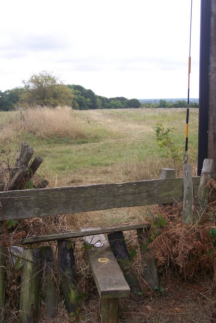Stile near Alcroft Grange
