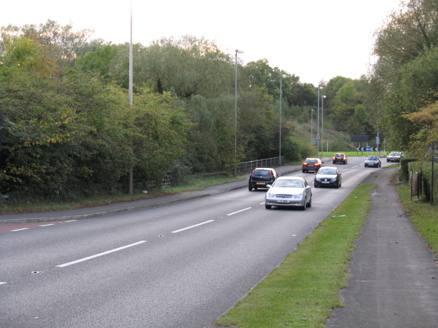 A560, Looking West At The Holiday Inn