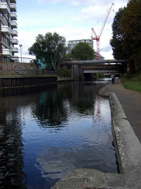 The Regent's Canal  in Limehouse