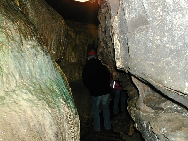 Inside White Scar Caves
