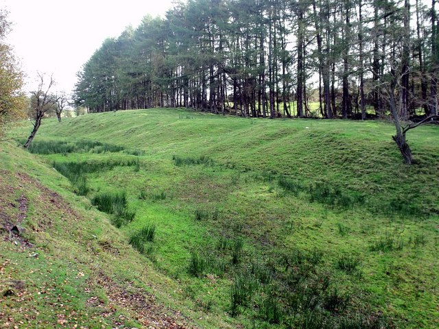 Antonine Wall near Westerwood