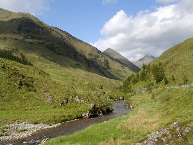 View to Faochag from the River Shiel