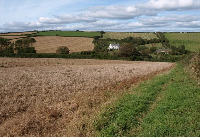 Footpath to Blanksmill