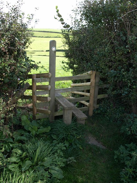 Stile near Ilton Castle Farm