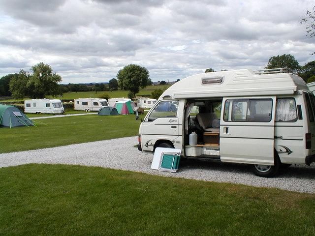 Campsite at Ingleton