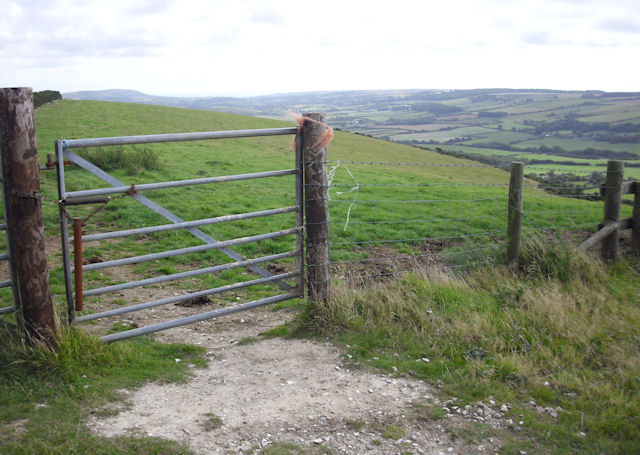 Gate on the Ridgeway