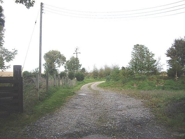 A track by Burncruinach farm