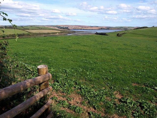 Looking towards the Kingsbridge estuary