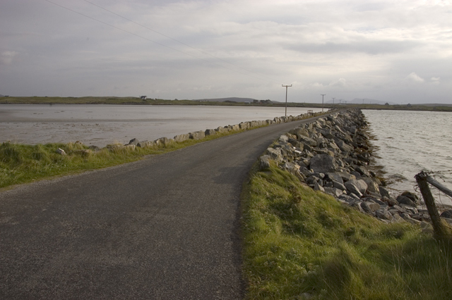 Causeway back to North Uist