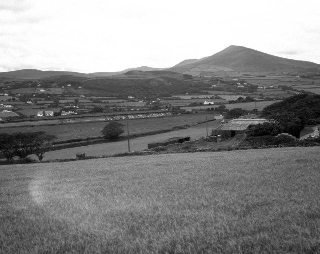 North Barrule from the A15 near Ballasloe