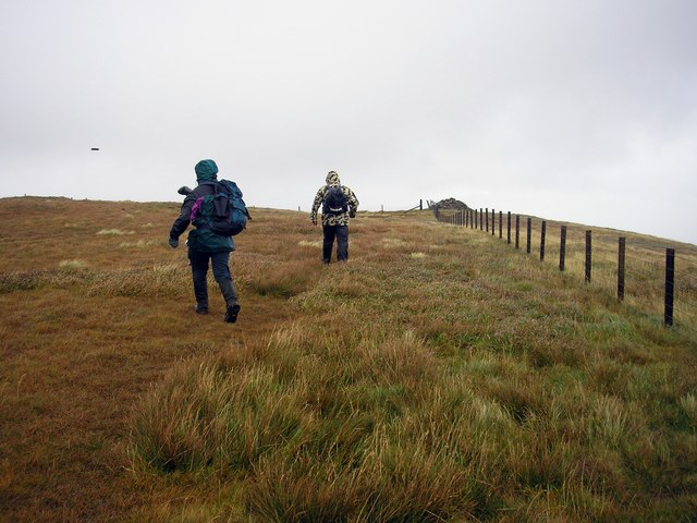 Getting Blown to the Summit, Ettrick Pen