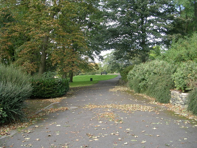 Akroyd Park - viewed from All Souls Road