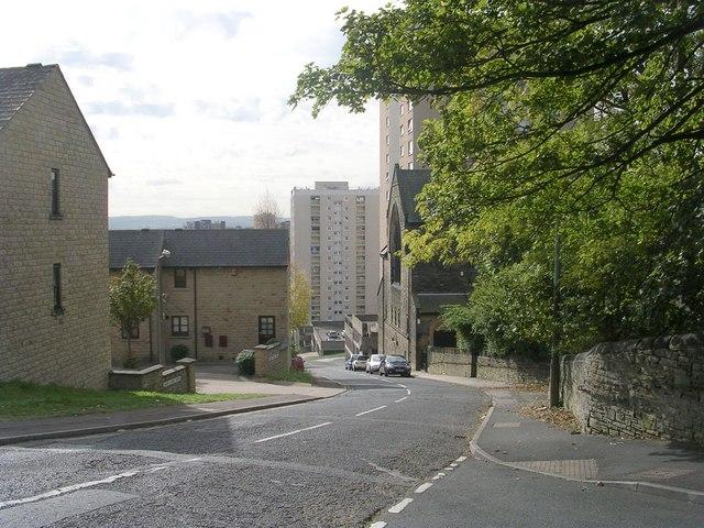 Range Lane - viewed from Range Street