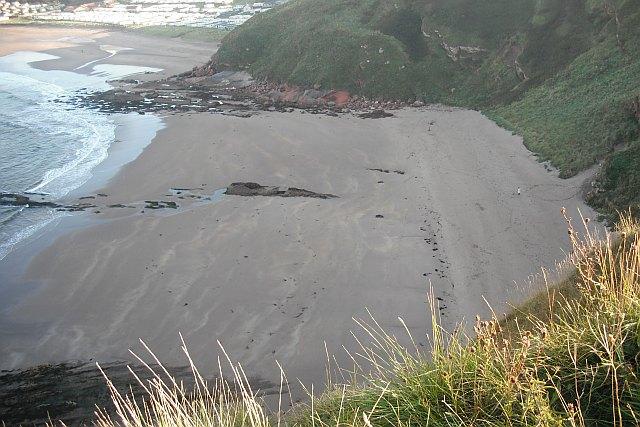 Beach, Pease Bay