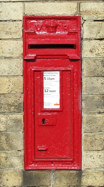 Carlton Miniott Postbox