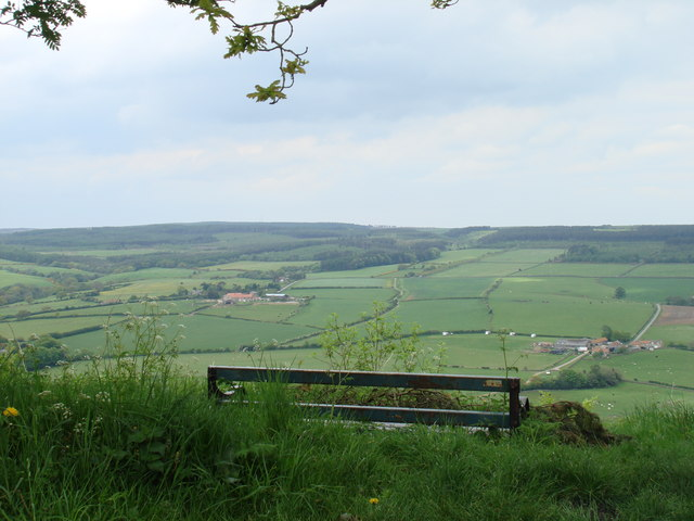 Harwood Dale from the edge of Broxa forest