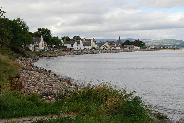 Cromarty shoreline