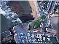 NT5585 : North Berwick harbour and Seabird Centre from the air by Lisa Jarvis