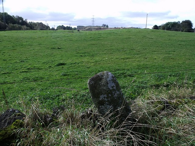 Standing Stone at Wester Dullatur