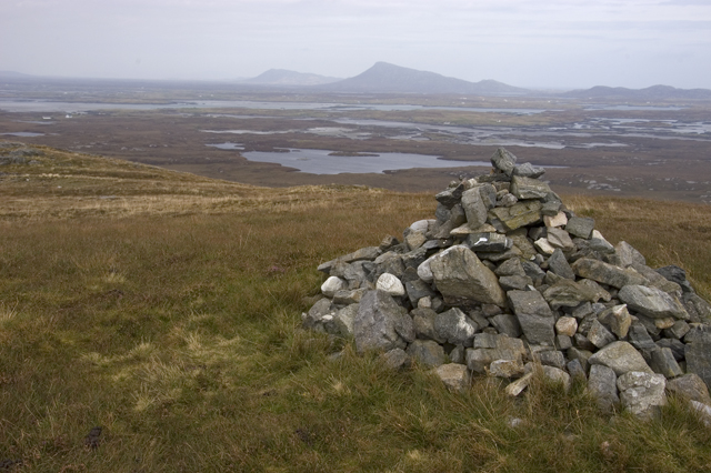 Cairn on summit of Ruabhal