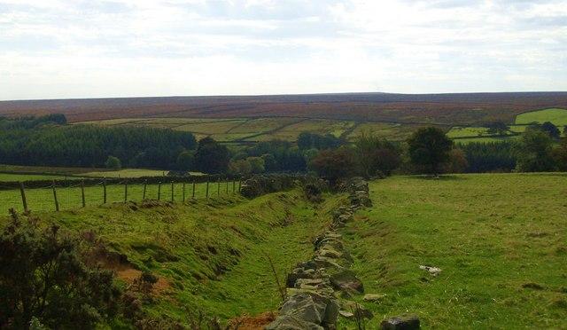 Footpath to Potter Lane Farm