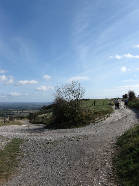 Bridleway Junction, Plumpton Plain